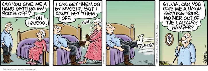 Comic Strip Brian Crane  Pickles 2021-08-28 mother