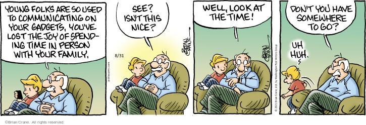 Comic Strip Brian Crane  Pickles 2021-08-31 use
