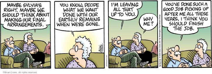 Comic Strip Brian Crane  Pickles 2021-09-03 relationship