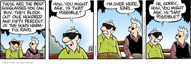 Comic Strip Brian Crane  Pickles 2021-09-06 block