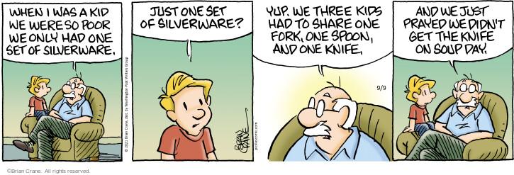 Comic Strip Brian Crane  Pickles 2021-09-09 only