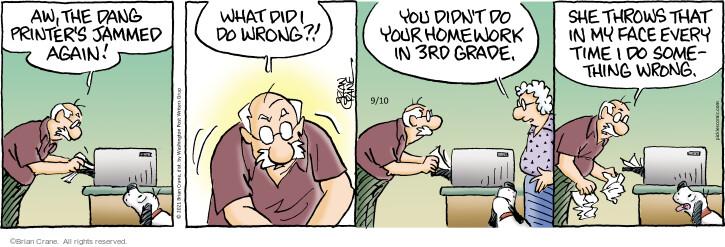 Comic Strip Brian Crane  Pickles 2021-09-10 time