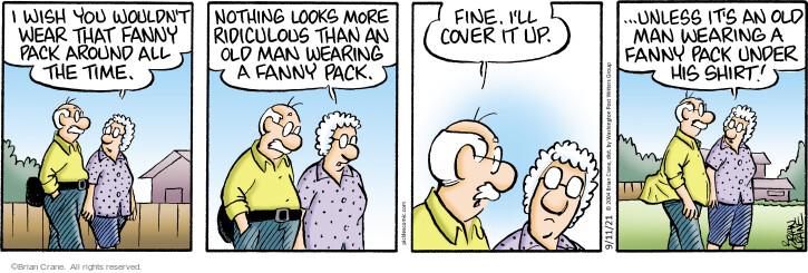 Comic Strip Brian Crane  Pickles 2021-09-11 originally