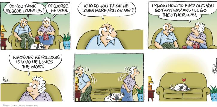 Comic Strip Brian Crane  Pickles 2021-09-26 know