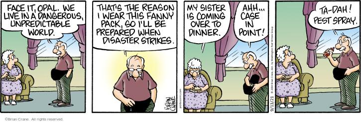 Comic Strip Brian Crane  Pickles 2021-09-13 reason