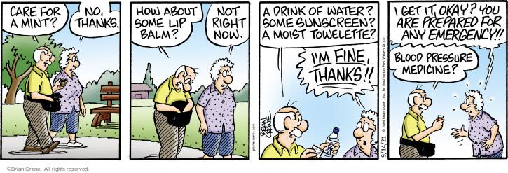 Comic Strip Brian Crane  Pickles 2021-09-14 now