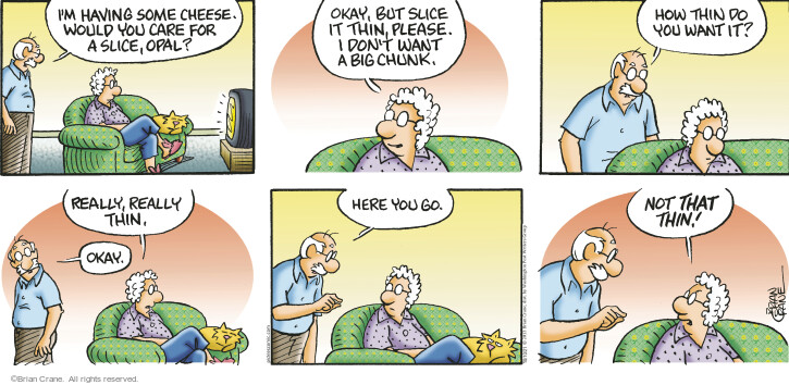Comic Strip Brian Crane  Pickles 2021-10-10 but