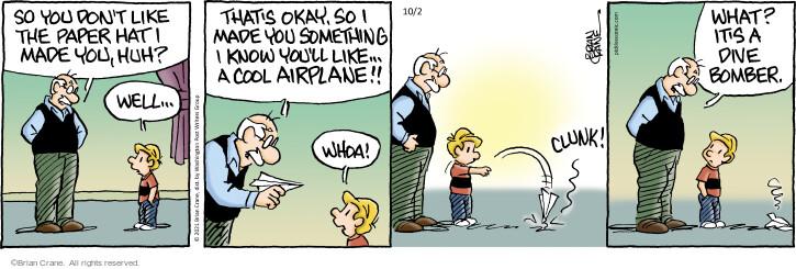 Comic Strip Brian Crane  Pickles 2021-10-02 know