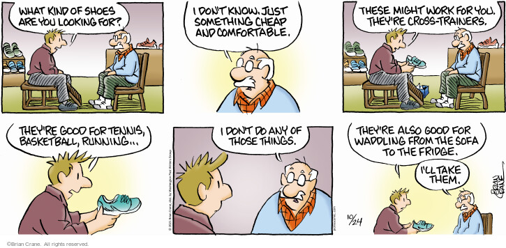 Comic Strip Brian Crane  Pickles 2021-10-24 know