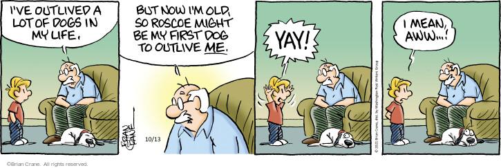 Comic Strip Brian Crane  Pickles 2021-10-13 animal