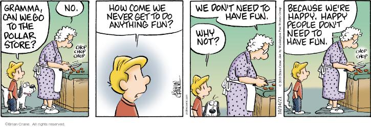 Comic Strip Brian Crane  Pickles 2021-10-14 anything