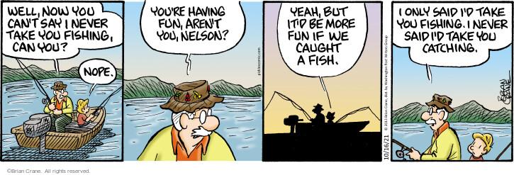 Comic Strip Brian Crane  Pickles 2021-10-16 take