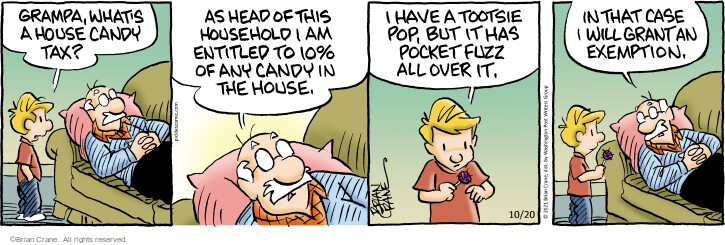 Comic Strip Brian Crane  Pickles 2021-10-20 strip