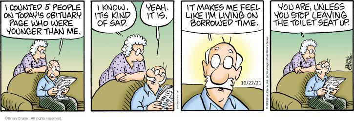 Comic Strip Brian Crane  Pickles 2021-10-22 know