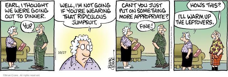 Comic Strip Brian Crane  Pickles 2021-10-27 just