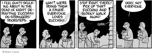 Comic Strip Brian Crane  Pickles 2007-09-22 excess