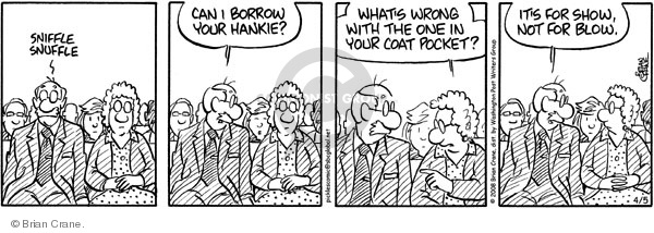 Comic Strip Brian Crane  Pickles 2008-04-05 cold nose