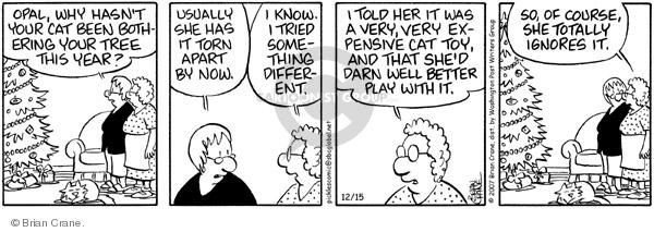 Comic Strip Brian Crane  Pickles 2007-12-15 bad behavior