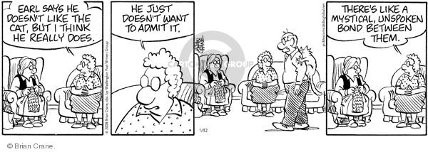 Comic Strip Brian Crane  Pickles 2008-01-12 bad behavior