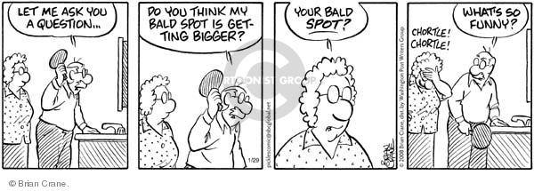 Comic Strip Brian Crane  Pickles 2008-01-29 husband