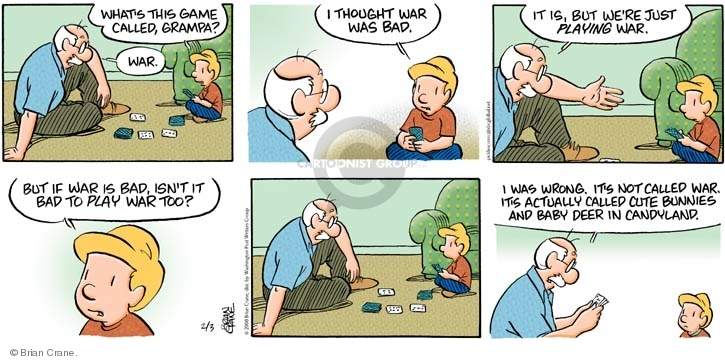 Comic Strip Brian Crane  Pickles 2008-02-03 parenting