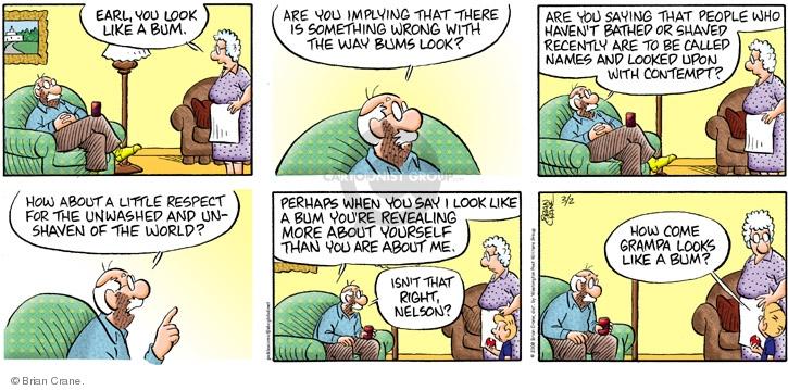 Comic Strip Brian Crane  Pickles 2008-03-02 unwashed