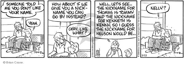 Comic Strip Brian Crane  Pickles 2008-03-13 grandchild