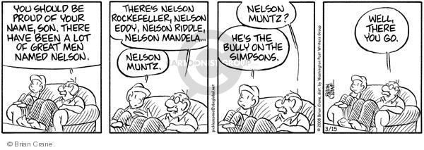 Comic Strip Brian Crane  Pickles 2008-03-15 grandchild