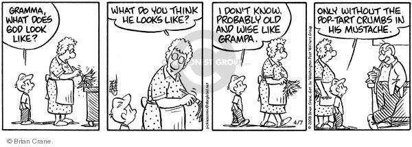 Comic Strip Brian Crane  Pickles 2008-04-07 grandmother