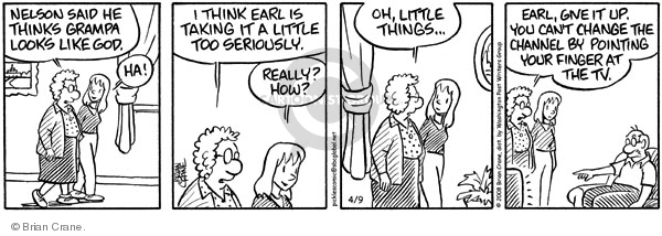 Comic Strip Brian Crane  Pickles 2008-04-09 magic