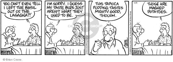 Comic Strip Brian Crane  Pickles 2008-04-29 lose
