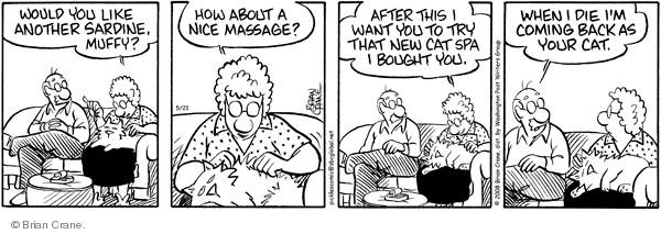 Comic Strip Brian Crane  Pickles 2008-05-21 affection