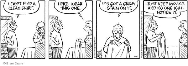 Comic Strip Brian Crane  Pickles 2008-05-30 husband