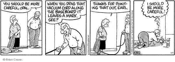 Comic Strip Brian Crane  Pickles 2008-06-04 husband