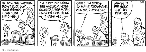 Comic Strip Brian Crane  Pickles 2008-06-18 red