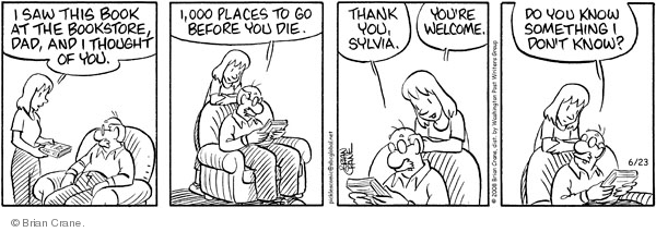 Comic Strip Brian Crane  Pickles 2008-06-23 000