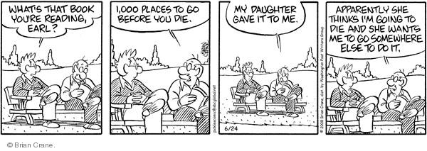 Comic Strip Brian Crane  Pickles 2008-06-24 age