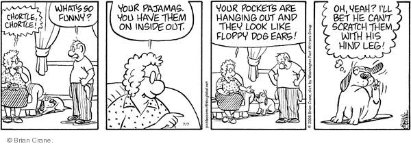 Comic Strip Brian Crane  Pickles 2008-07-07 husband