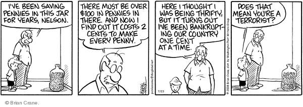 Comic Strip Brian Crane  Pickles 2008-07-23 grandchild