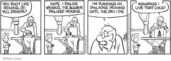 Comic Strip Brian Crane  Pickles 2008-09-25 ruin