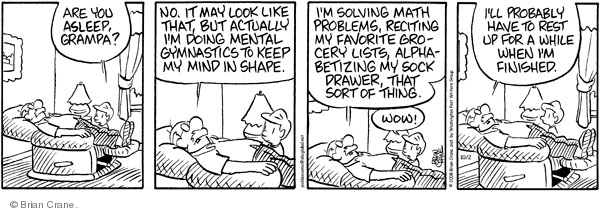 Comic Strip Brian Crane  Pickles 2011-11-03 grocery