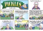 Comic Strip Brian Crane  Pickles 2009-02-01 heat