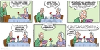 Cartoonist Brian Crane  Pickles 2007-12-30 backward