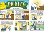 Cartoonist Brian Crane  Pickles 2008-06-22 fruit fly
