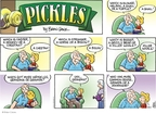 Comic Strip Brian Crane  Pickles 2008-08-17 horse