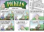 Cartoonist Brian Crane  Pickles 2008-10-05 100