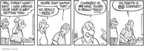 Comic Strip Brian Crane  Pickles 2008-10-08 thin hair