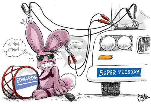 Cartoonist Dwane Powell  Dwane Powell's Editorial Cartoons 2004-03-02 start