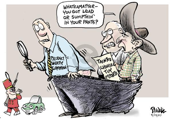 Cartoonist Dwane Powell  Dwane Powell's Editorial Cartoons 2007-08-23 Bush Cheney