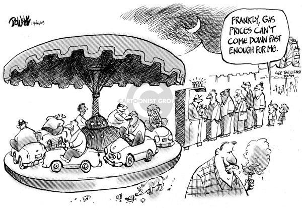 Dwane Powell  Dwane Powell's Editorial Cartoons 2008-10-16 waste
